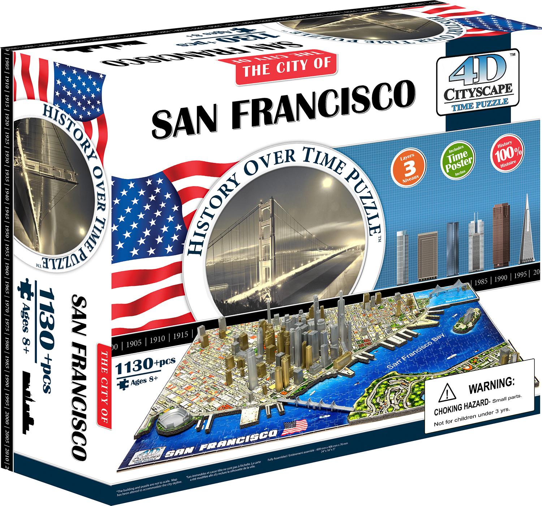 4D San Francisco Puzzle