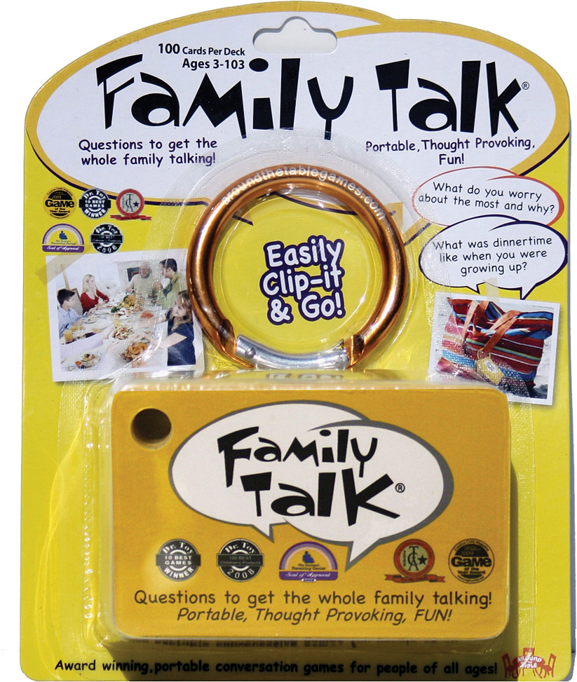 Family Talk - blister pack