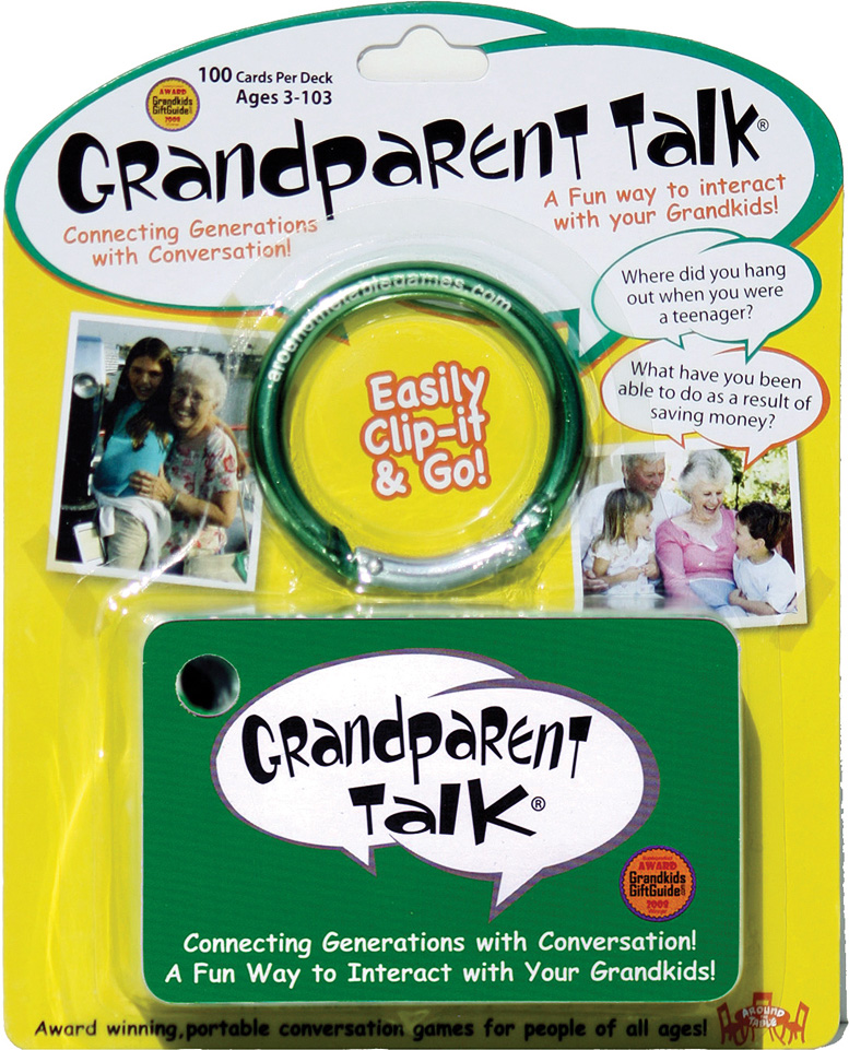 Grandparent Talk - blister pack