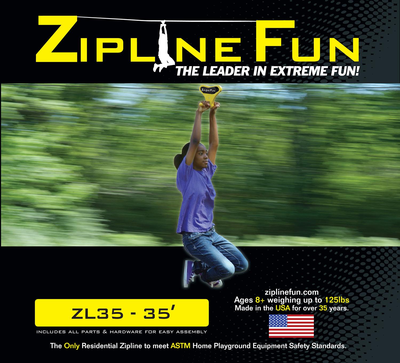 ZL35 - 35' Zip Line