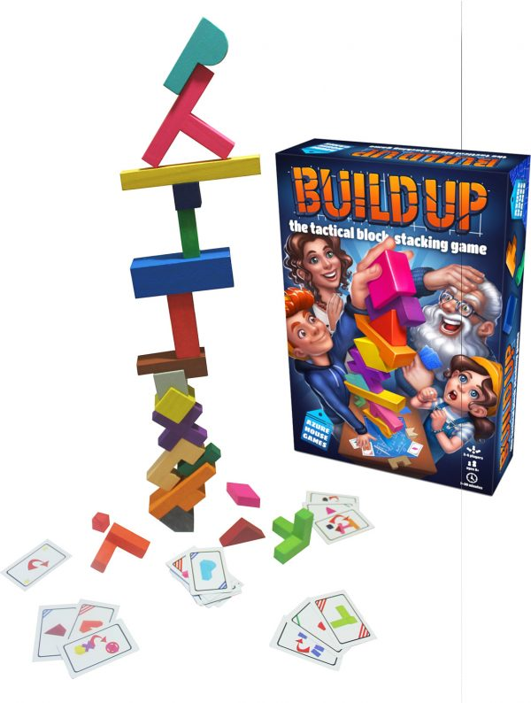 Build Up: The Tactical Block Stacking Game