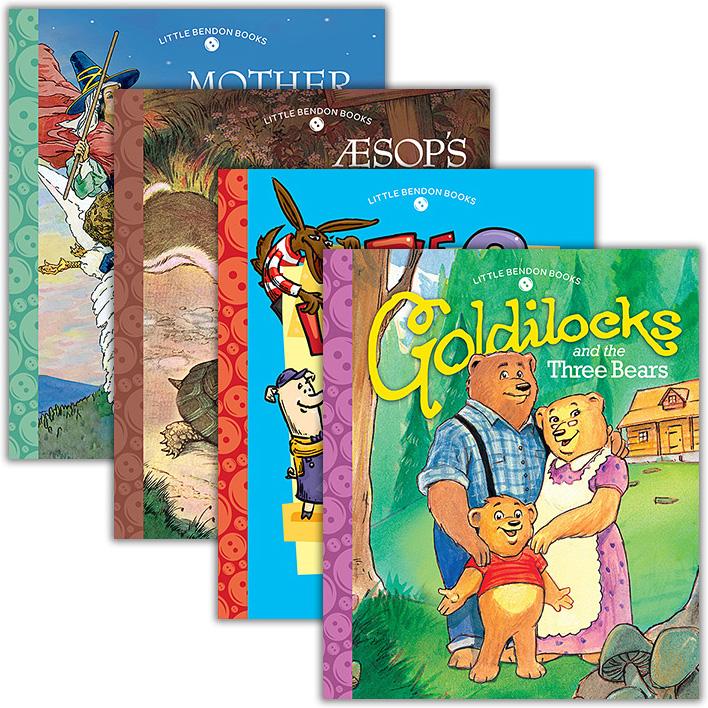 Bendon (Goldilocks, Three Little Pigs, Aesop's Fables, Mother Goose)