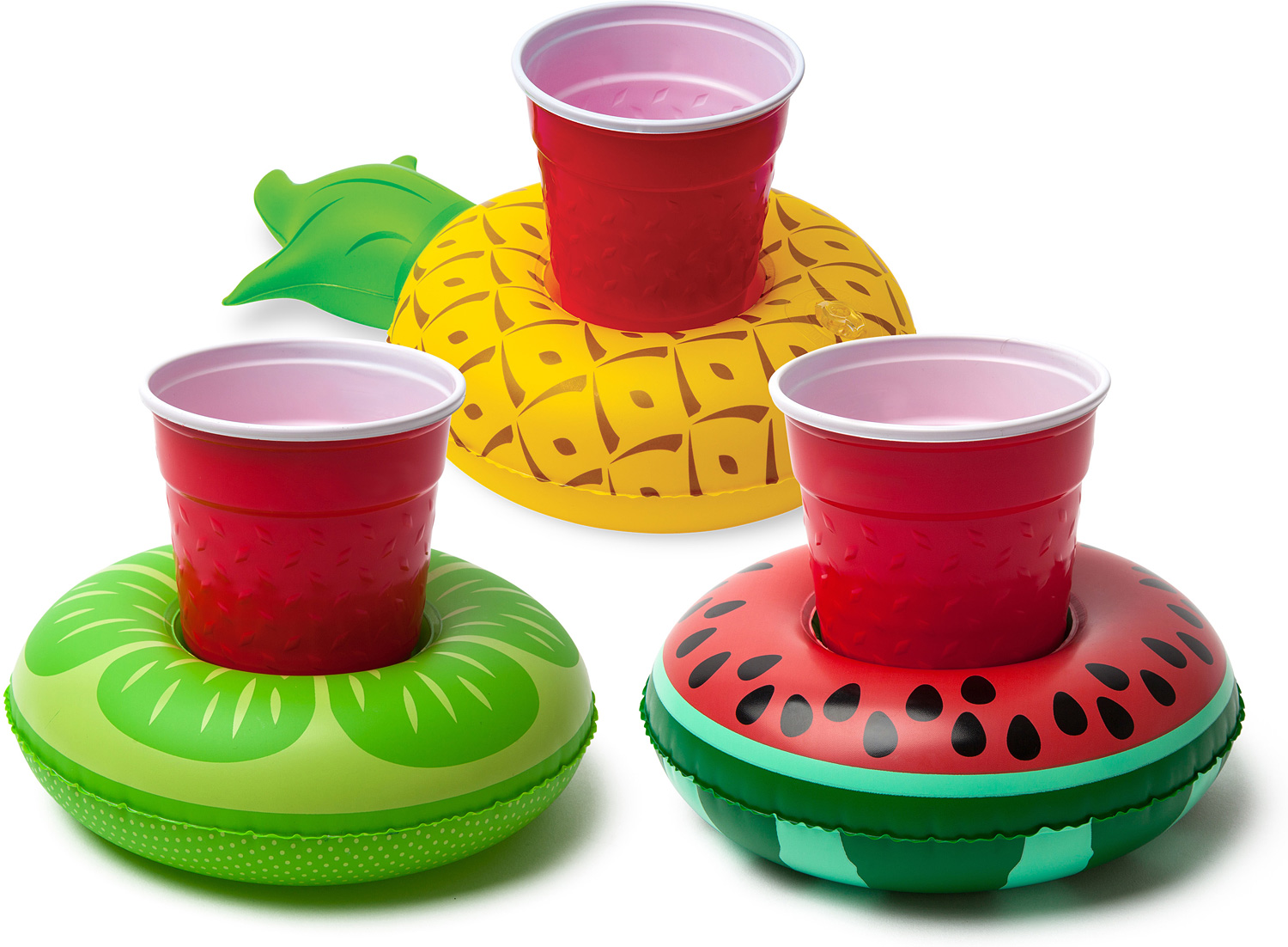 Tropical Fruits Beverage Boats 3 pack