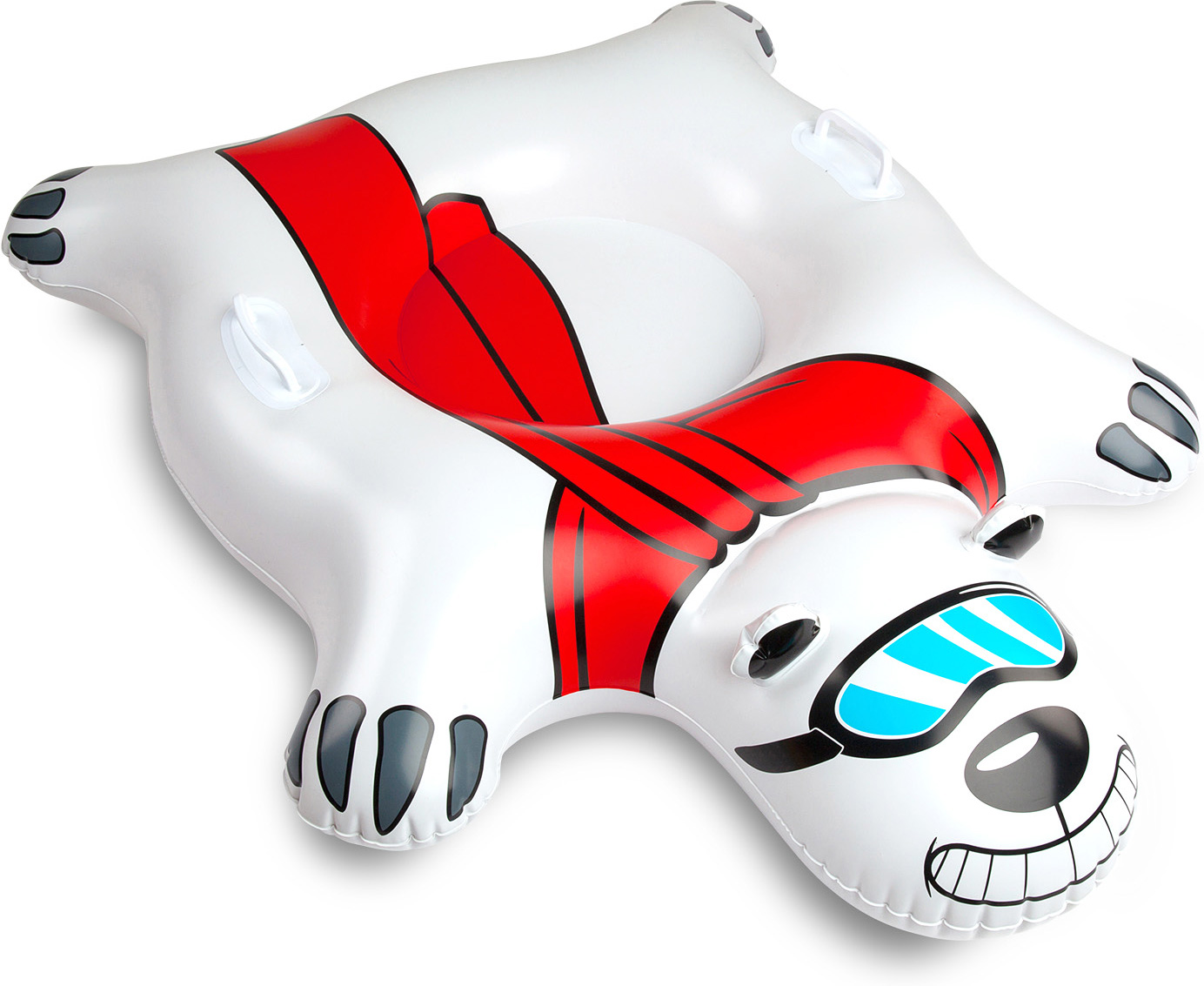 Giant Polar Bear Snow Tube