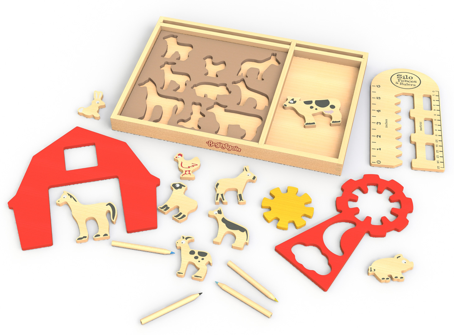 Art on the Farm Stencil Kit