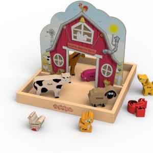 Sounds Around The Farm Story Box