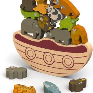 Balance Boat Endangered Animals