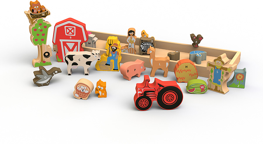 The Farm A to Z Puzzle