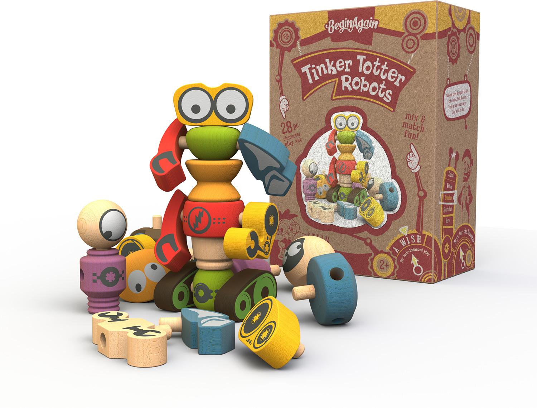 Tinker Totter Robots