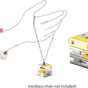 Bracelet Cube - Silver / Gold