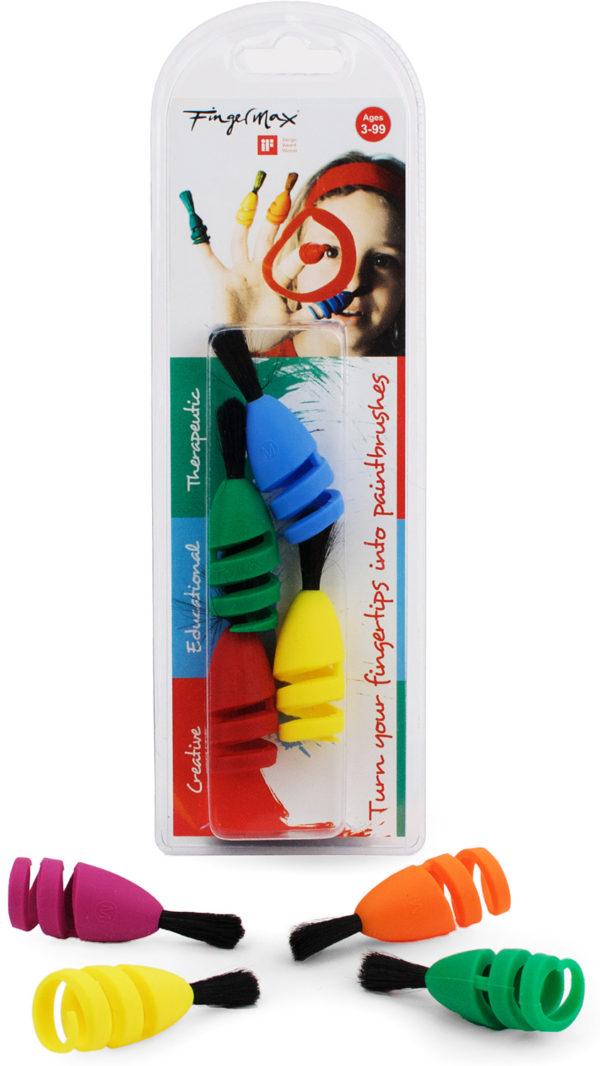 FingerMax 4-Brush Pack (Universal Size)