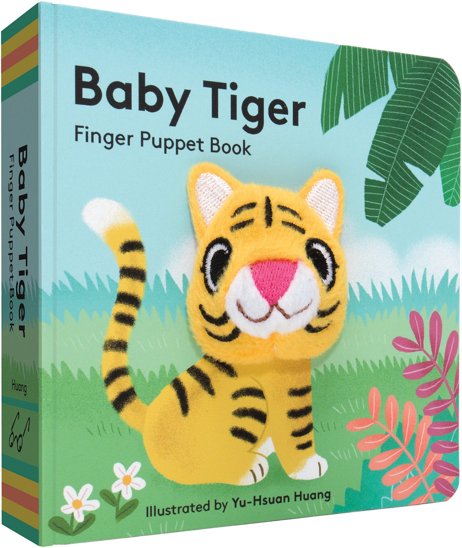 baby tiger finger puppet