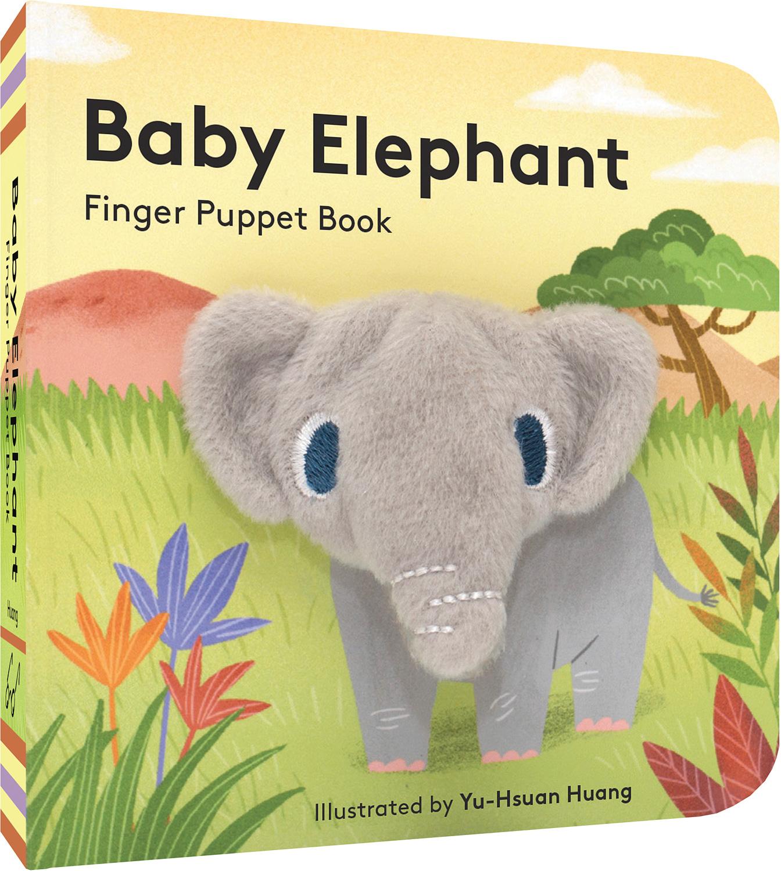 baby Elephant finer puppet