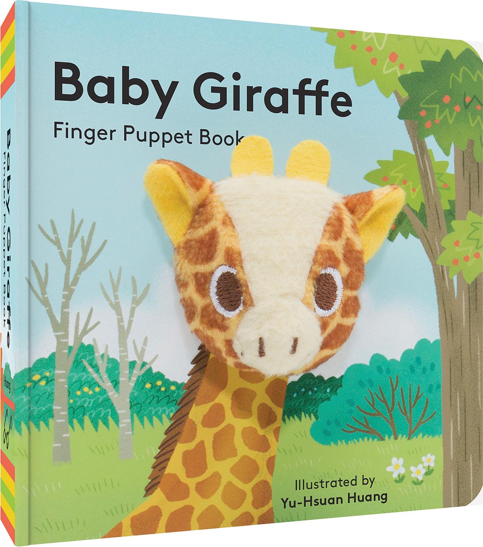 baby giraffe finger puppet