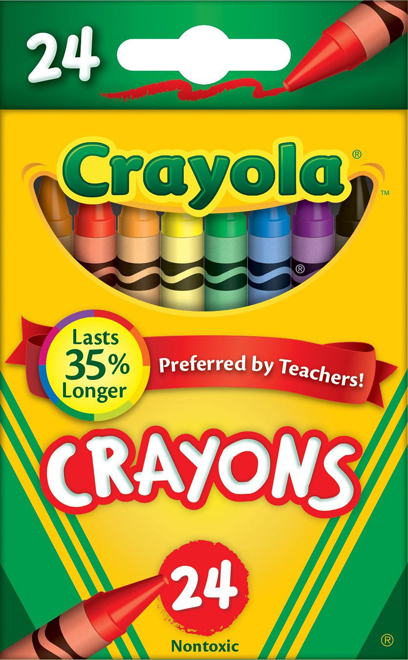 Crayons 24 ct.
