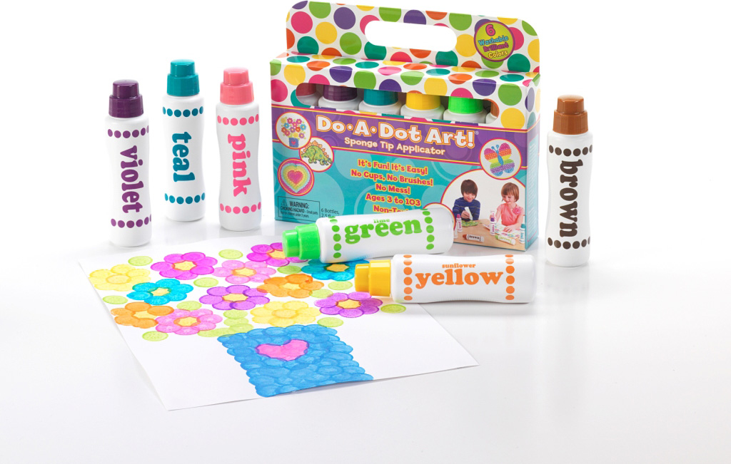 DO-A-DOT ART 6 PACK BRILLIANT MARKERS