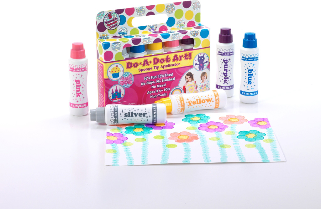 DO-A-DOT ART 5 PACK SHIMMER MARKERS