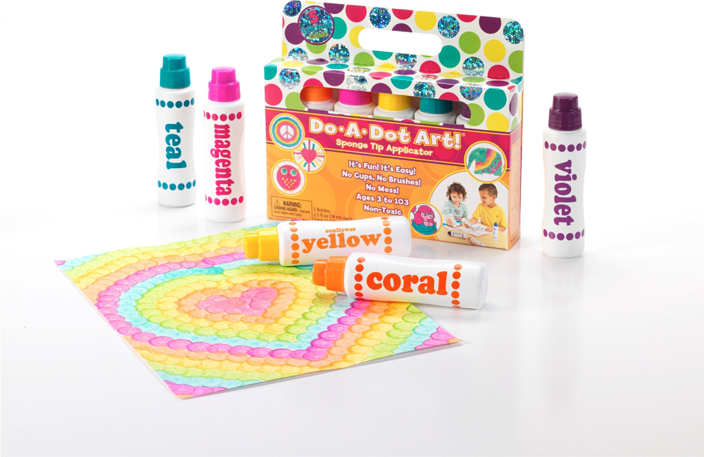 DO-A-DOT ART 5 PACK TUTTI FRUTTI SHIMMER MARKERS