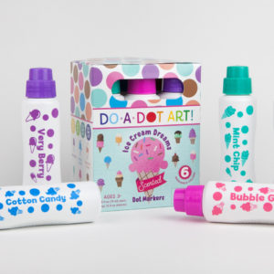 DO-A-DOT ART SCENTED ICE CREAM DREAMS MARKERS