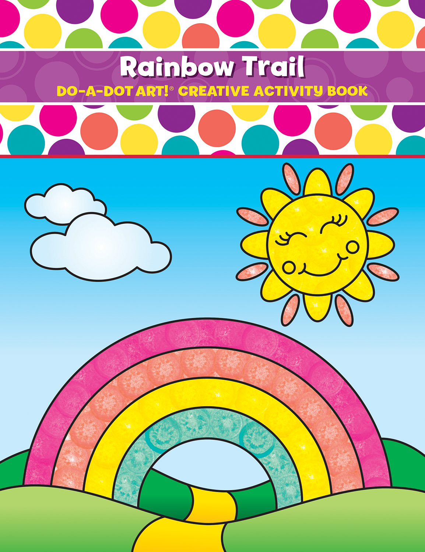 DO-A-DOT ART RAINBOW TRAIL ACTIVITY BOOK