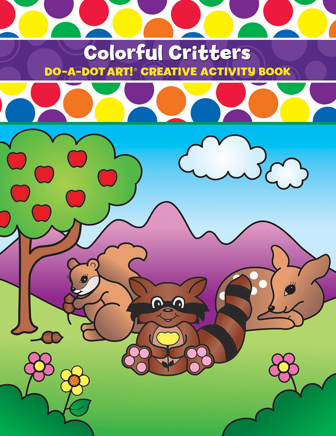 DO-A-DOT ART COLORFUL CRITTERS ACTIVITY BOOK