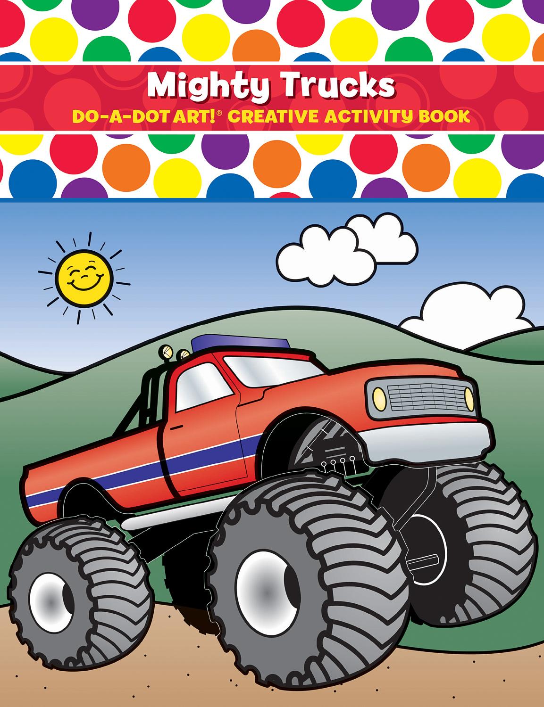 DO-A-DOT ART MIGHTY TRUCKS ACTIVITY BOOK