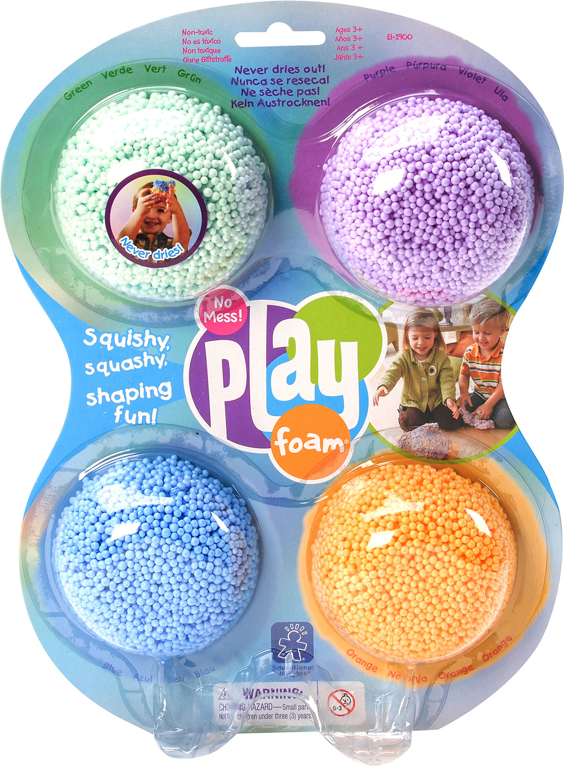 4 PACK CLASSIC PLAYFOAM