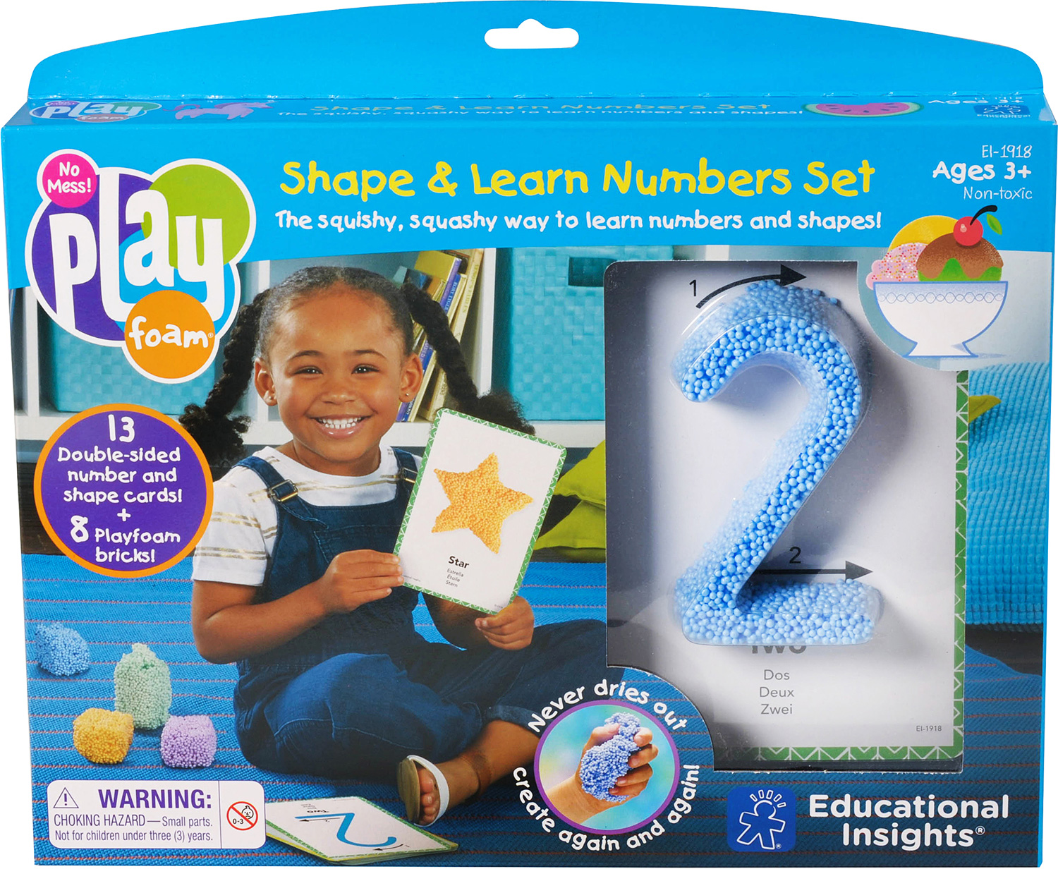 Playfoam® Shape & Learn Numbers Set