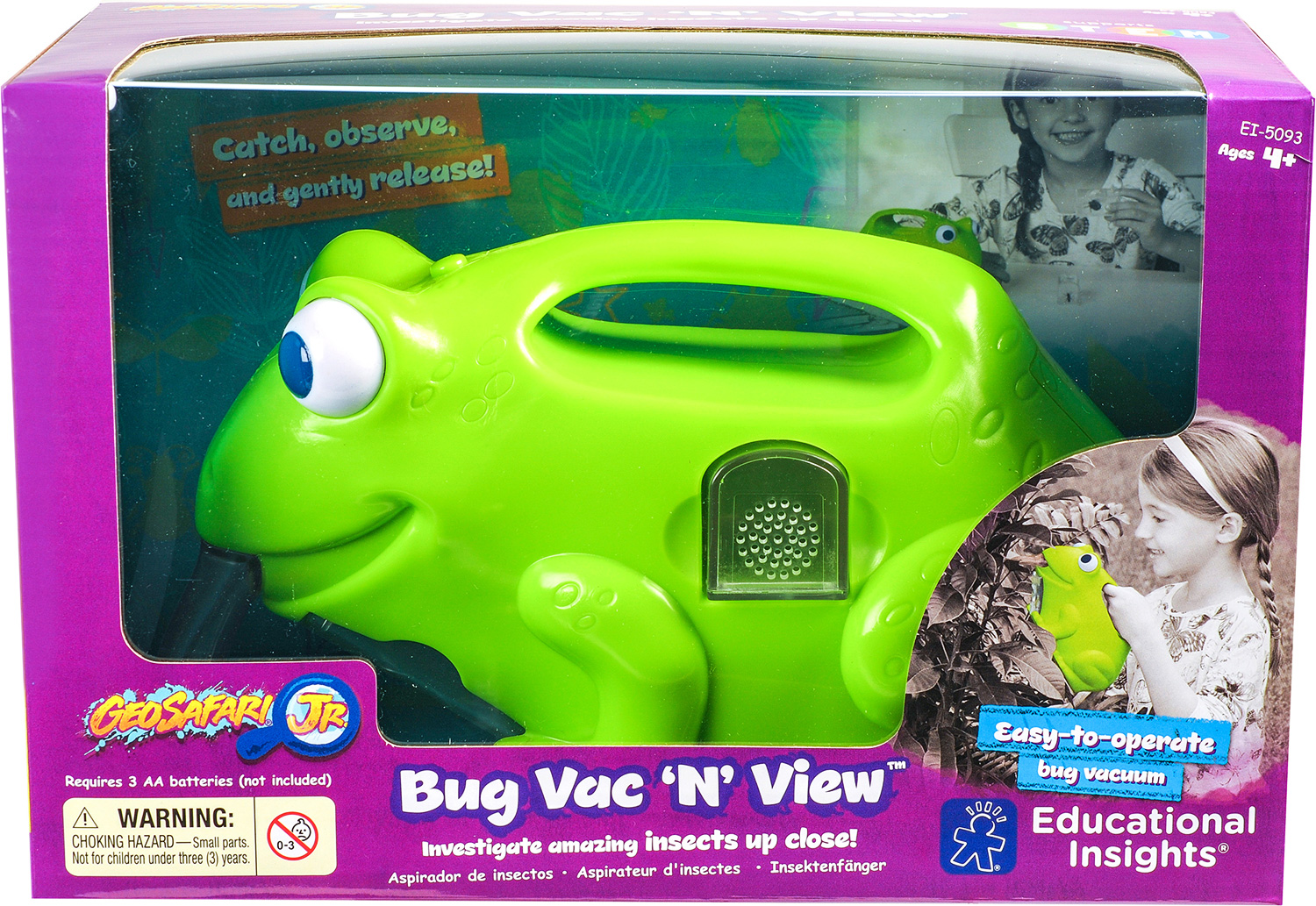 GeoSafari® Jr. Bug Vac 'N' ViewTM