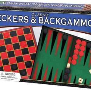 Classic Checkers & Backgammon