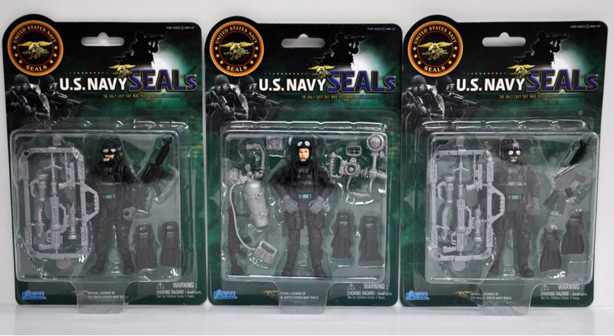 US Navy Seals Figure with Accessories Water Gear