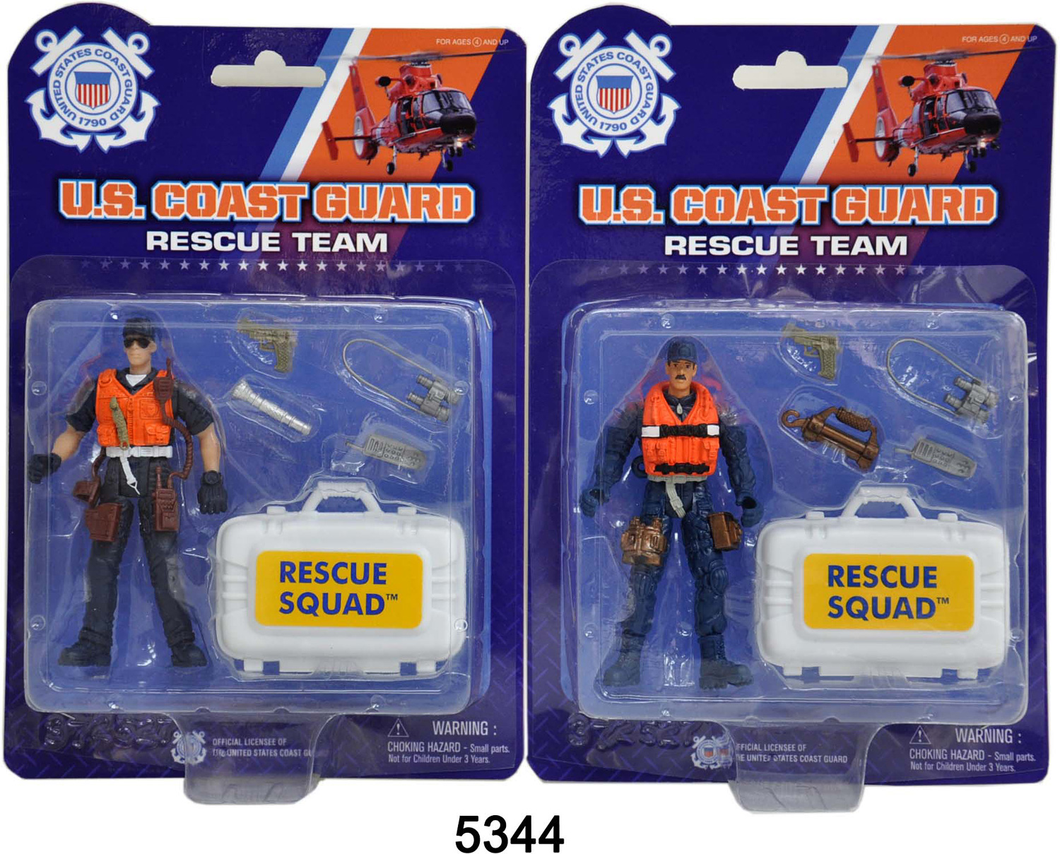 US Coast Guard Rescue Figure with Accessories