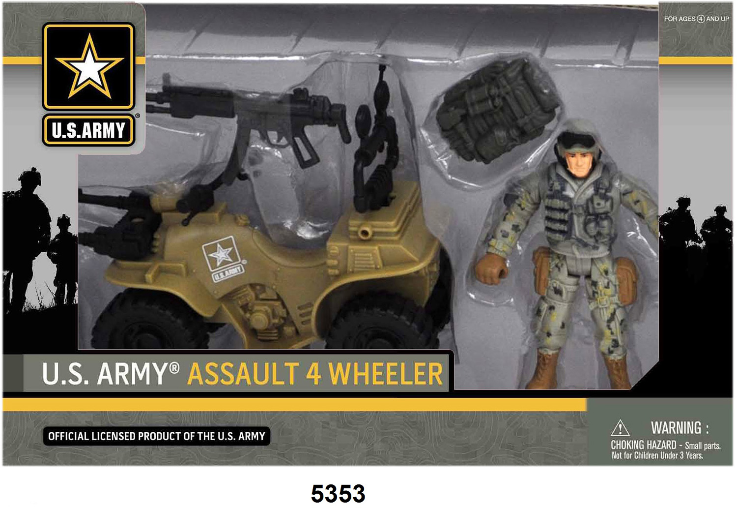 US Army Soldier Assault 4 Wheeler