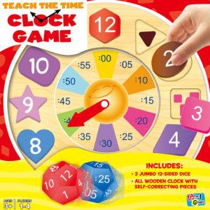 Teach the Time Clock Game
