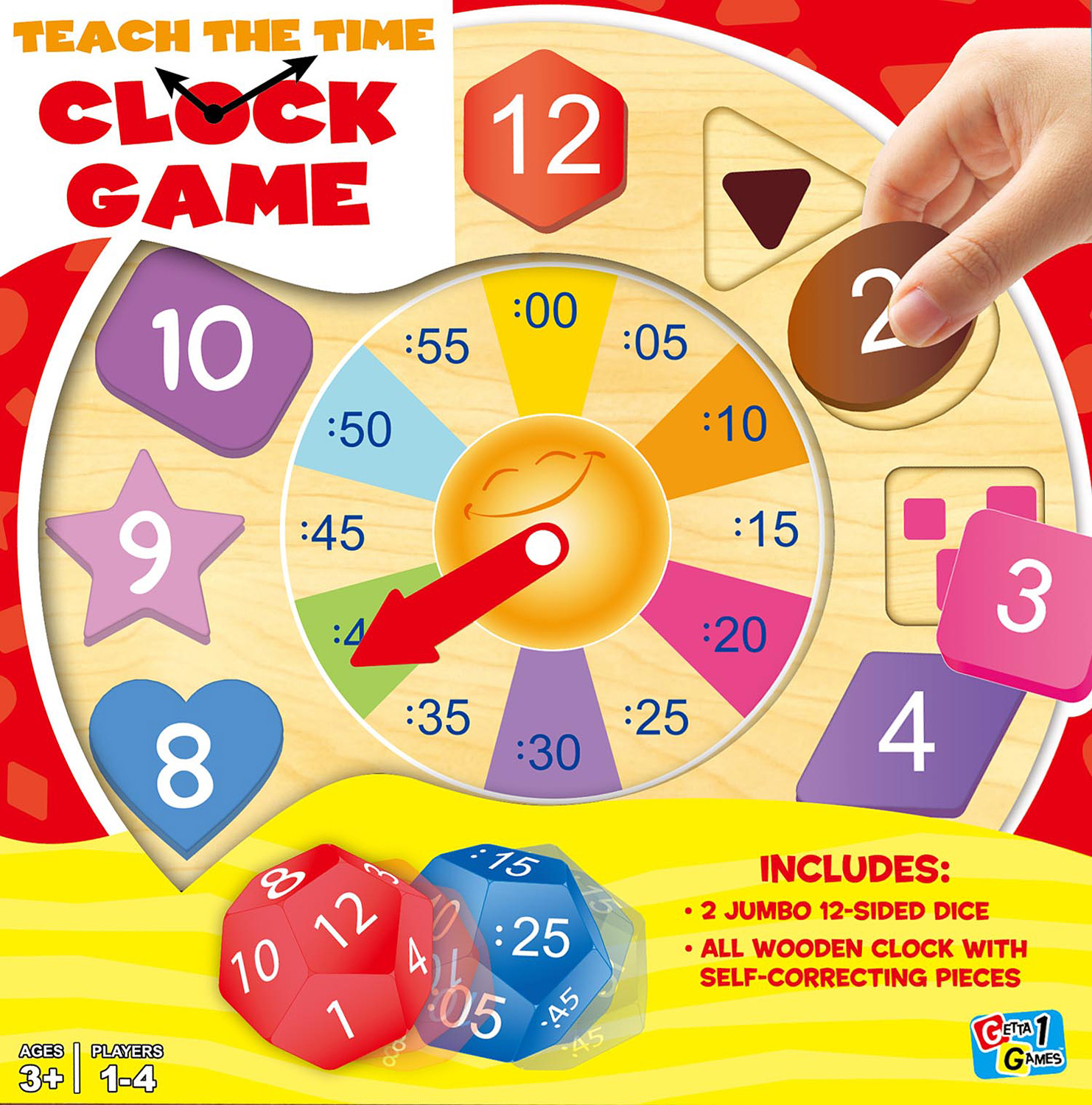 Teach the Time Clock Game