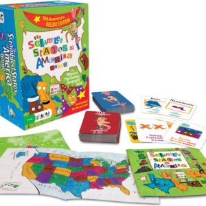 Scrambled States Game Delux