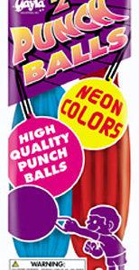 Neon Punch Balls