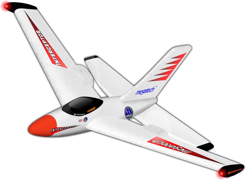 Interceptor Airplane - Red
