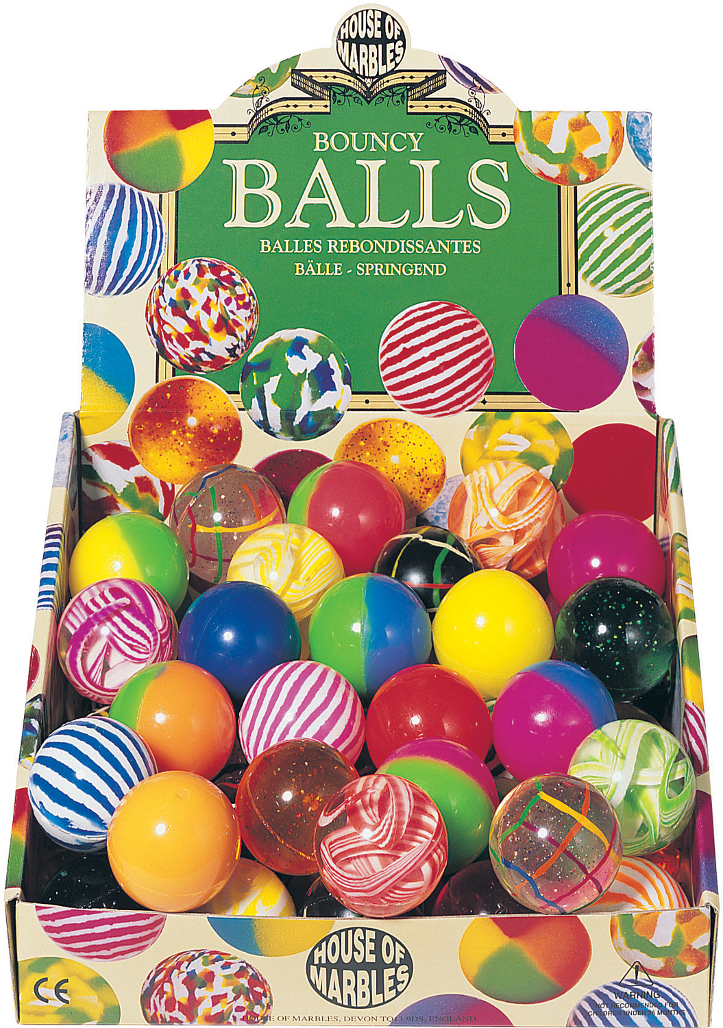 Bouncy Balls (pack of 50)