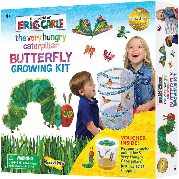 Hungry Categillar Growing Kit - Eric Carle