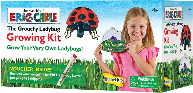 Grouchy Ladybug Growing Kit - Eric Carle