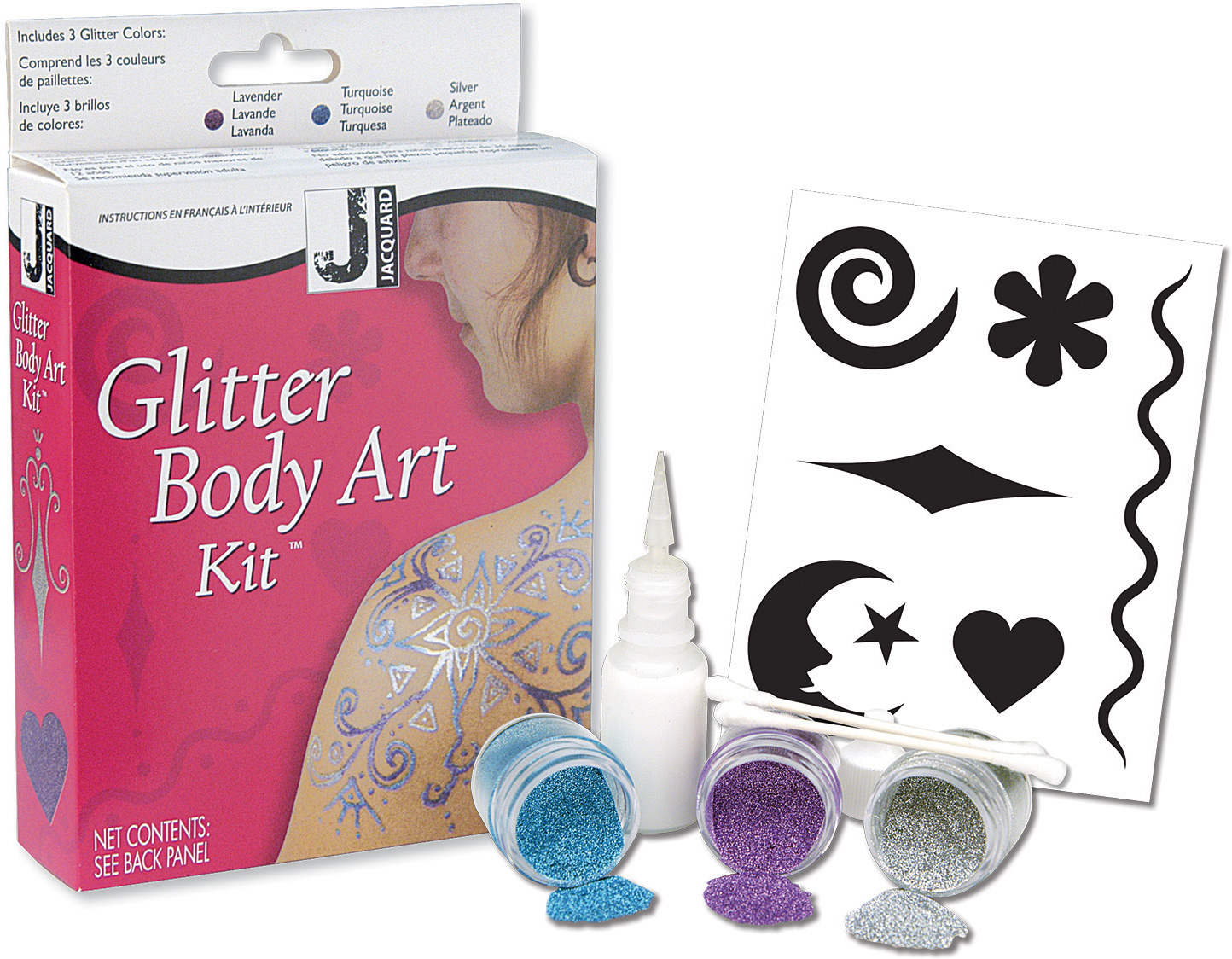 Glitter Body Art Kit