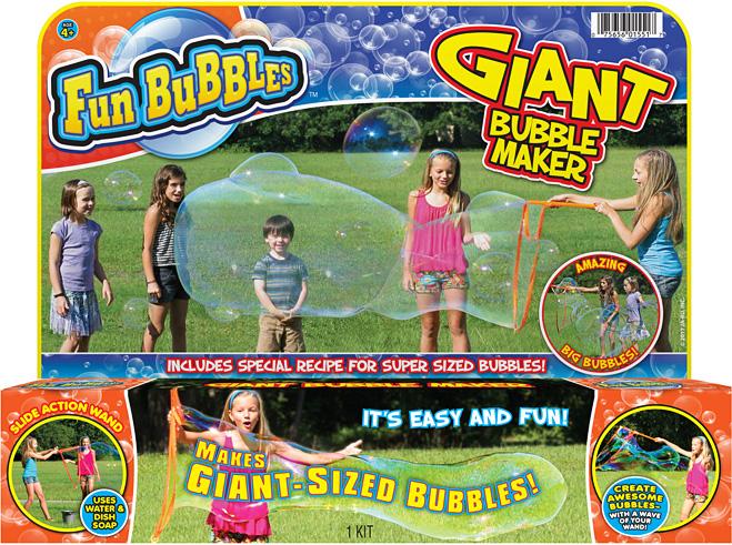 Fun Bubbles GIANT BUBBLE MAKER