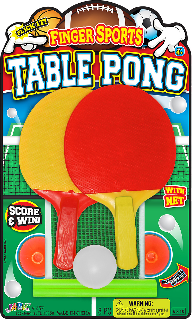 FINGER SPORTS TABLE PONG