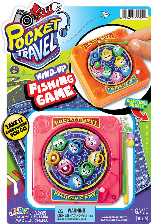 Pocket Travel Wind/Up FISHING GAME