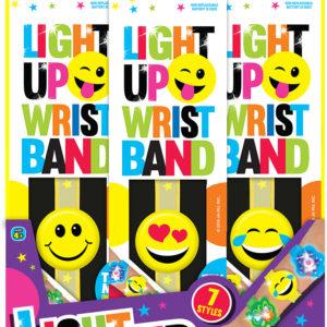LIGHT UP WRIST BAND PDQ 36