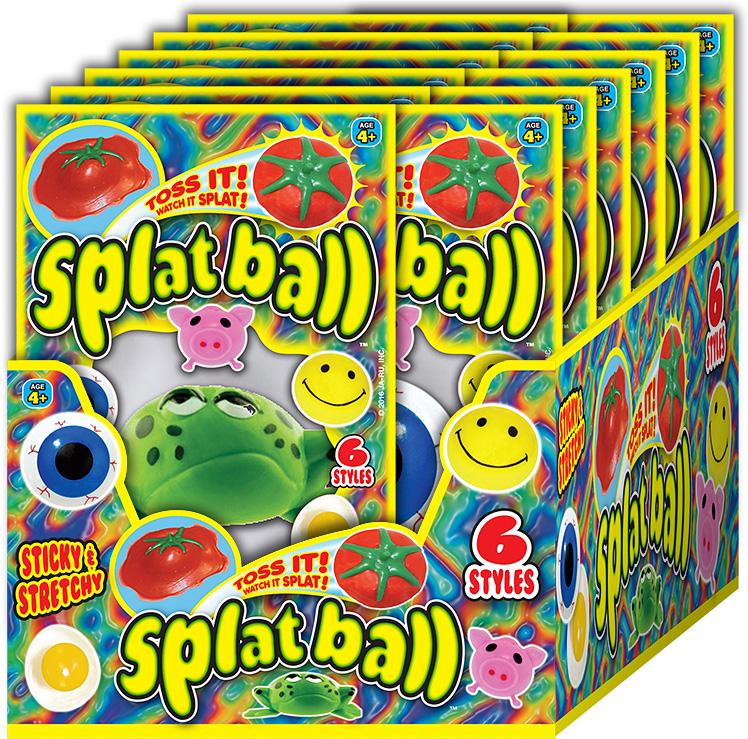 SPLAT BALL ASST. PDQ 24