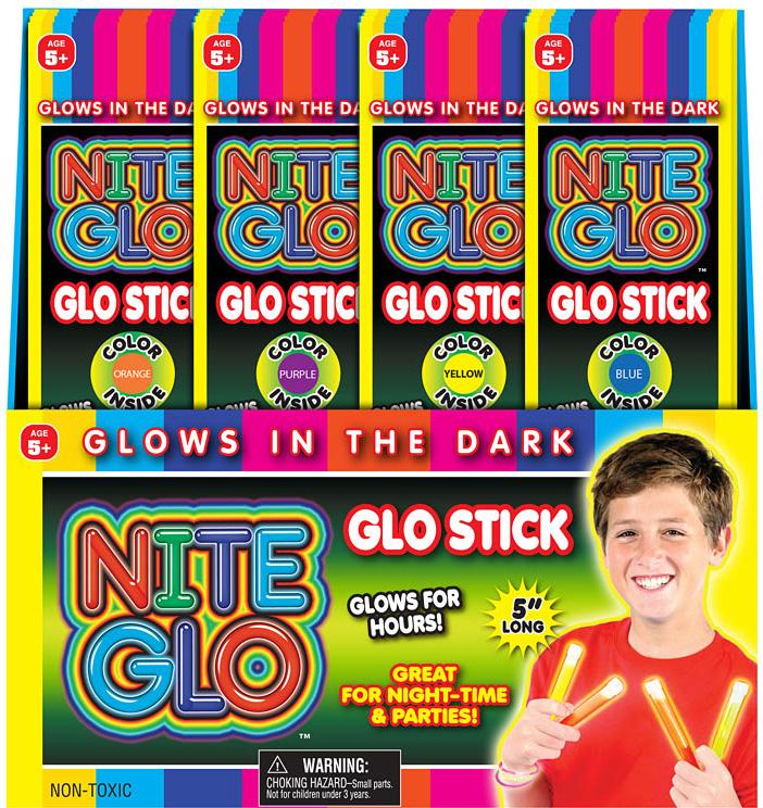 NITE GLO NITE STICK PDQ36