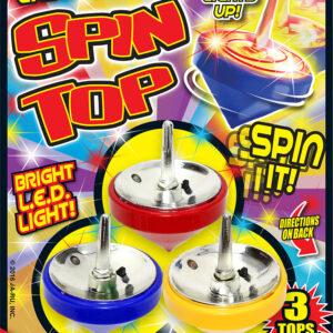 LIGHT UP SPIN TOPS
