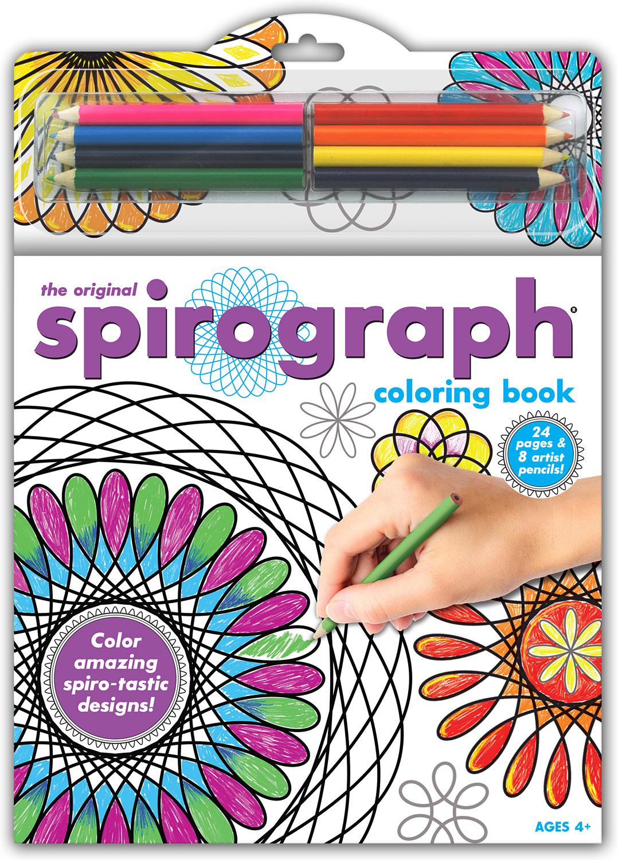Spirograph Coloring Book